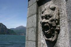 Screaming stone gargoyle Royalty Free Stock Image
