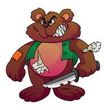 Screamy Bear Royalty Free Stock Images