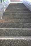 Scree staircase. Stock Photo