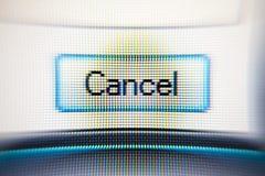 Screen. Close up of a computer screen Royalty Free Stock Photos