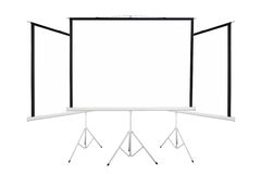 Screen background to show projector Royalty Free Stock Image