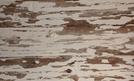 Screen of boards with exfoliated color Royalty Free Stock Photo
