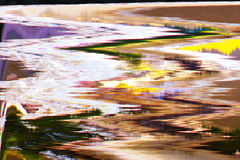 Screen digital abstract background texture glitches distortion Stock Photography