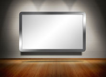 Screen exposed under spotlights Royalty Free Stock Images