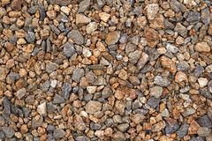 Screen full of small pebbles. stock image