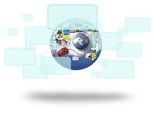 Screen Internet Stock Image