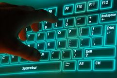 On-screen keyboard Stock Images