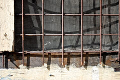 Screen Mesh Wall Window Detail Stock Photos