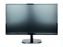 screen monitor tv isolated royalty free stock image