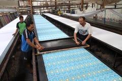 Screen printing Stock Photos