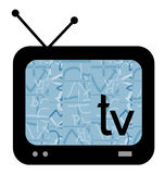 Screen television Stock Photos