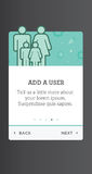 Screen Windows for Mobile UI and UX interface and experience des Stock Photos
