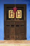 Close-up of Chinese doorway Stock Photo