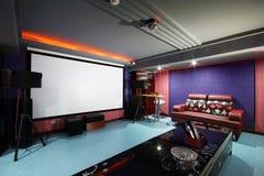 Screening room Royalty Free Stock Image