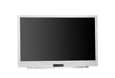 Screens. Room with a wall of tv screens Royalty Free Stock Images
