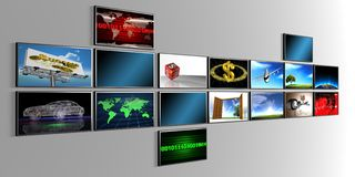 Screens Royalty Free Stock Image