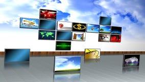 Screens Stock Photo