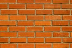 Screensaver para o fundo sob a cor de uma parede decorativa alinhada com tijolo vermelho imagens de stock