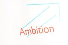 Screenshot van een presentatie: Ambitie Royalty-vrije Illustratie