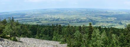 Screes dans les montagnes de Åwietokrzyskie Images libres de droits