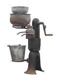 Scrematrice del vecchio latte isolata Immagine Stock Libera da Diritti