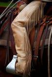 Screpolature del cowboy fotografie stock libere da diritti