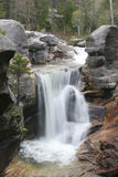 Screw Auger Waterfall. Pretty view of Screw Auger Waterfall in Maine Stock Image