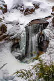 Screw Augur Falls in Winter Stock Images