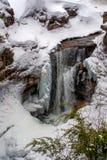 Screw Augur Falls in Winter Stock Images