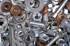 Screw and bolt Stock Image