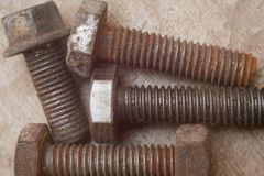 Free Screw, Bolt And Nut. Royalty Free Stock Photos - 147803748