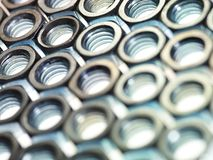 Screw bolts Royalty Free Stock Photos