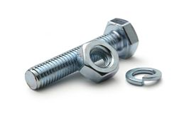 Screw bolts Royalty Free Stock Image