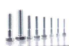 Screw-bolts Stock Photography