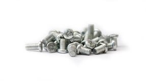 Screw-bolts Royalty Free Stock Photos