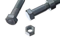 Screw and bolts Stock Image
