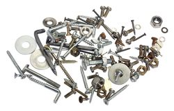 Screw clutter Stock Images