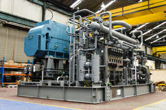 Screw compressors Stock Images
