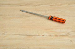 A screw driver Royalty Free Stock Images