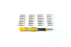 Screw Driver Kit. Screwdriver kit isolated on white Stock Image