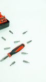 Screw driver set Royalty Free Stock Images