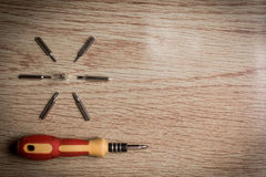 Screw driver set Stock Image