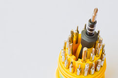 Screw driver set Royalty Free Stock Photography