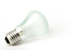 Fitting Light bulb on a white background Stock Photos