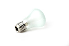 Fitting Light bulb on a white background Royalty Free Stock Photos
