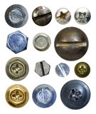 Screw heads Stock Images