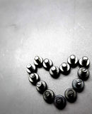Screw. Heart. Know screw arrange as a heart Royalty Free Stock Photos
