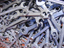 Screw key Stock Photo