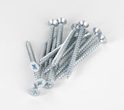 nail for frame installation tools Royalty Free Stock Photography
