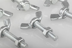 Screw and Nut Royalty Free Stock Photography